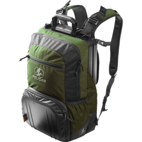 Pelican S140 Sport Elite Tablet Backpack - Green on Black