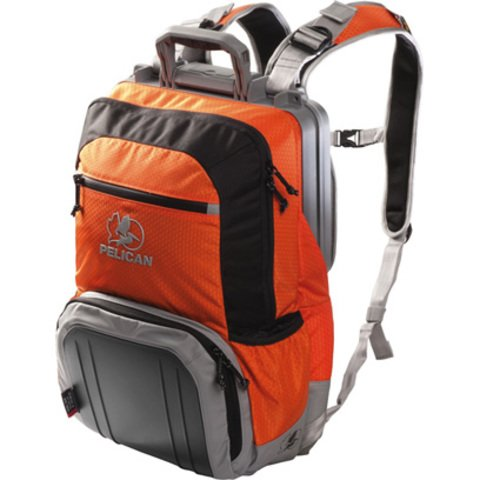 Pelican S140 Sport Elite Tablet Backpack - Orange on Black/Grey