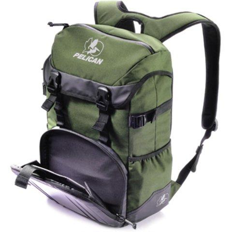 Pelican S145 Sport Tablet Backpack - Green on Black