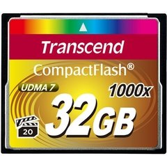 Transcend 32GB Ultimate 1000x Compact Flash Memory Card
