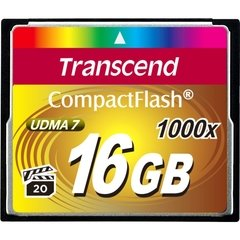 Transcend 16GB Ultimate 1000x Compact Flash Memory Card