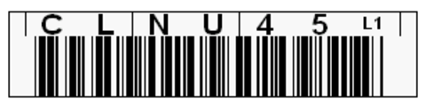 Tri-Optic LTO Cleaning Horizontal Label