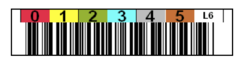 Tri-Optic LTO6 Horizontal Label