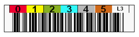 Tri-Optic LTO3 Horizontal Label