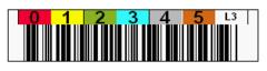 Tri-Optic LTO3 Horizontal Label