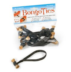 BongoTies Black - 10 Ties