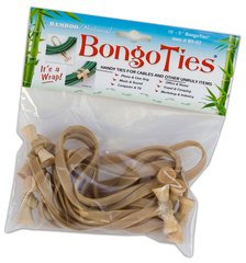 BongoTies Natural - 10 Ties