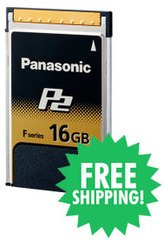 Panasonic - 16GB F-Series P2 Card 16 GB
