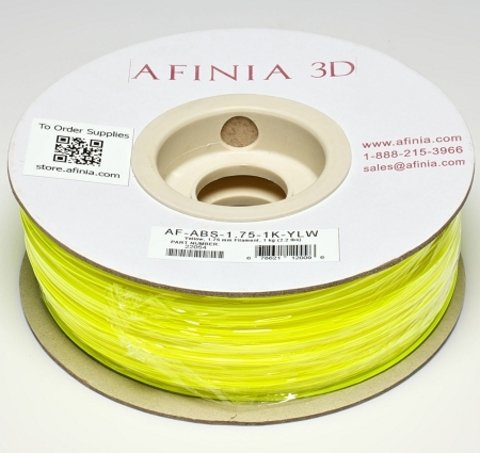 Value-Line Fluorescent Yellow ABS Filament - 22054