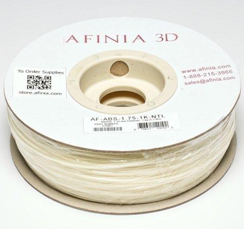 Afinia Value-Line Natural ABS Filament - 22061