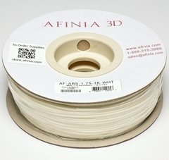 Afinia Value-Line White ABS Filament - 22096