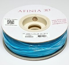 Value-Line Glow-in-the-Dark Blue ABS Filament - 22138
