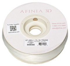 Afinia Value-Line Transparent ABS Filament - 22544