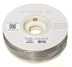 Value-Line Color Change Grey-White ABS Filament - 22558