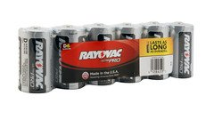 Rayovac Alkaline Shrink-Wrapped Ultra Pro D Batteries - 6-Pack