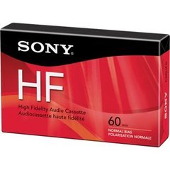 Sony 60 Minute High Fidelity Audio Cassette