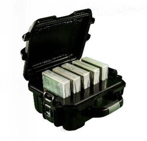 Turtle TeraTurtle LTO/DLT/35XX 6 Capacity Case