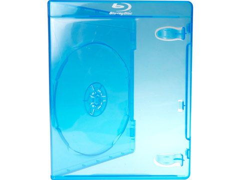Evergreen Single Blu-ray Case with Logo