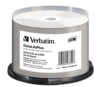 Verbatim 8x DVD+R DL Double Layer White Thermal Printable - 50 Discs