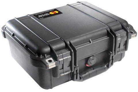 Pelican 1400 Case with Foam - Black