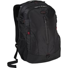 "Targus Terra 16"" Laptop Backpack, Black/Red"