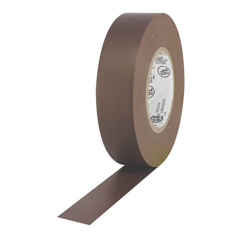 Pro-Tapes Pro Plus Electrical Tape - Brown