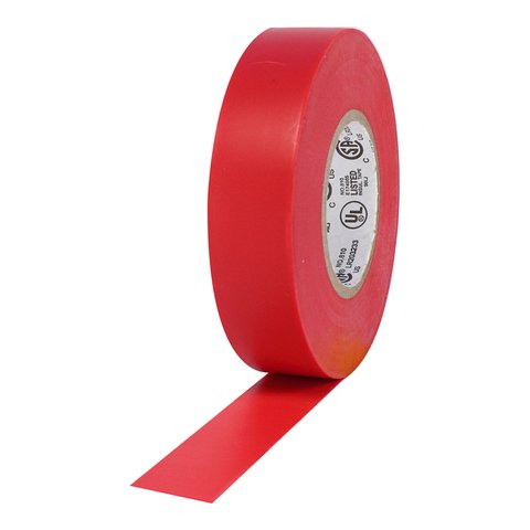 Pro-Tapes Pro Plus Electrical Tape - Red