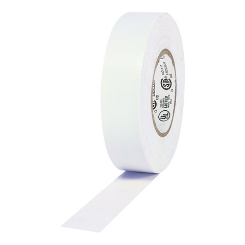 Pro-Tapes Pro Plus Electrical Tape - White