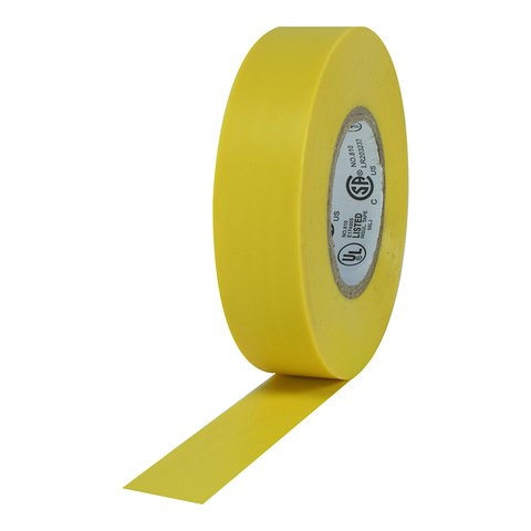 Pro-Tapes Pro Plus Electrical Tape - Yellow