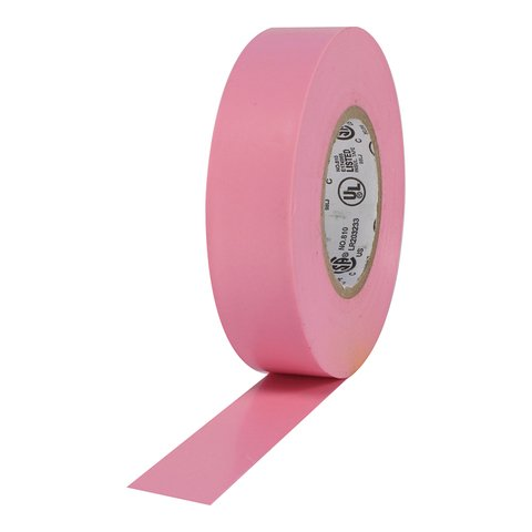 Pro-Tapes Pro Plus Electrical Tape - Pink