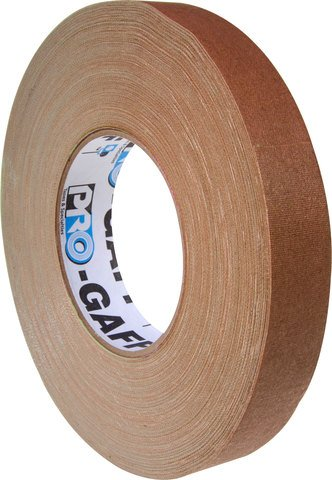 Pro-Tapes Pro-Gaffer 1 Inch Brown