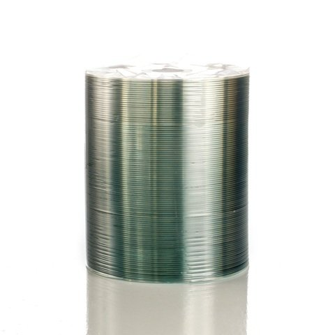 JVC 52x CD-R Shiny Silver Thermal Printable - 100 Discs