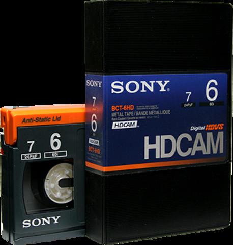 Sony HDCAM 6 Minutes BCT-6HD