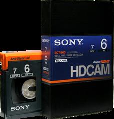 HDCAM 6 Minutes BCT-6HD