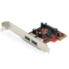 StarTech 2 Port SuperSpeed USB 3.0 PCI Express Card with UASP - SATA Power