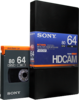 HDCAM 64 Minutes BCT-64HDL