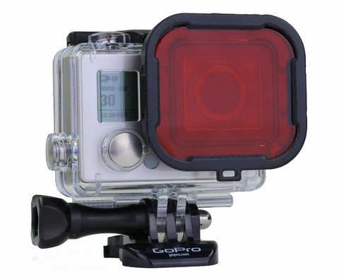 Polar Pro Aqua3+ Series Red Filter for HERO3+