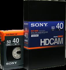 Sony HDCAM 40 Minutes BCT-40HD