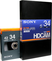 Sony HDCAM 34 Minutes BCT-34HDL