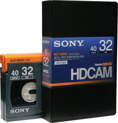 Sony HDCAM 32 Minutes BCT-32HD