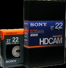Sony HDCAM 22 Minutes BCT-22HD
