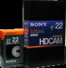 HDCAM 22 Minutes BCT-22HD