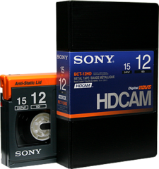 HDCAM 12 Minutes BCT-12HD