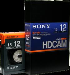 Sony HDCAM 12 Minutes BCT-12HD