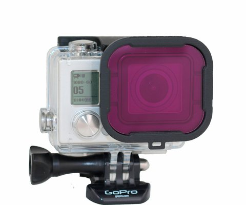 Polar Pro Aqua3+ Series Magenta Filter for HERO3