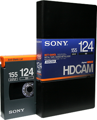 Sony HDCAM 124 Minutes BCT-124HDL