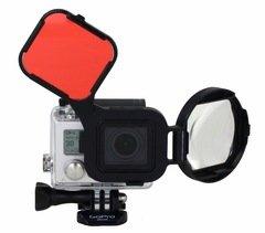 Polar Pro SwitchBlade3+ Red Filter/Macro Lens for HERO3+