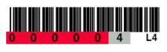 Tri-Optic LTO4 Horizontal Label