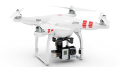 DJI Phantom 2 + Zenmuse H3-3D Gimbal for GoPro HERO3