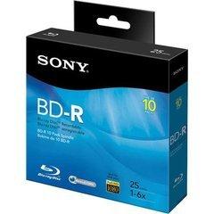 Sony 6x BD-R Logo Branded - 10 Discs